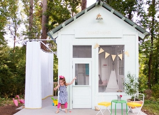 Kids playhouse shed