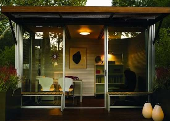 Home Office Shed - Backyard Sheds - 8 Other Uses For Outbuildings