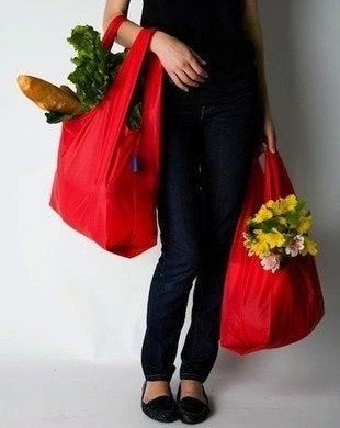 Baggu re usable shopping bags