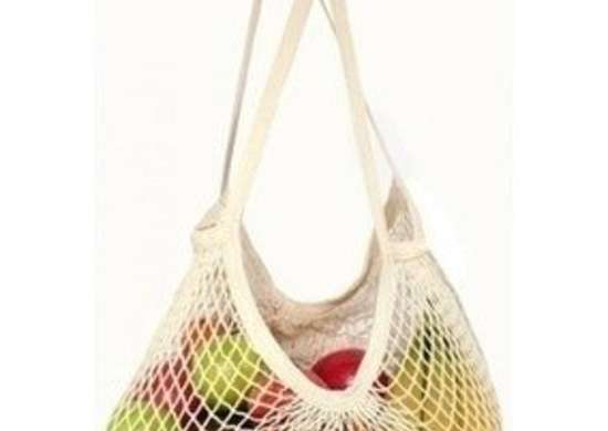 Eco bags cotton classic string long handle rev