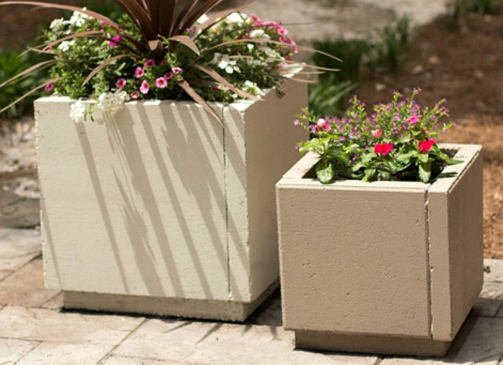 Pavers   diy planter