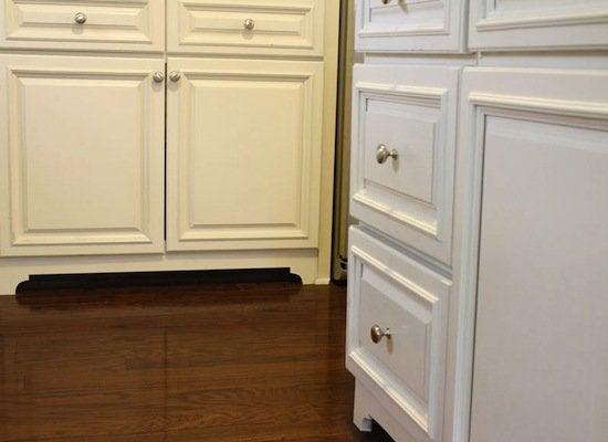 Diy cabinet feet
