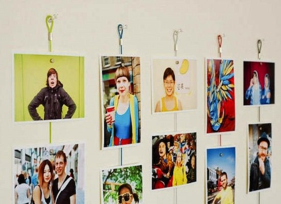 Photo arranging ropes