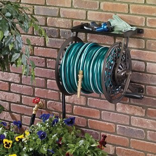 Ames.com reeleasy%c2%ae aluminum wall mount hose reel