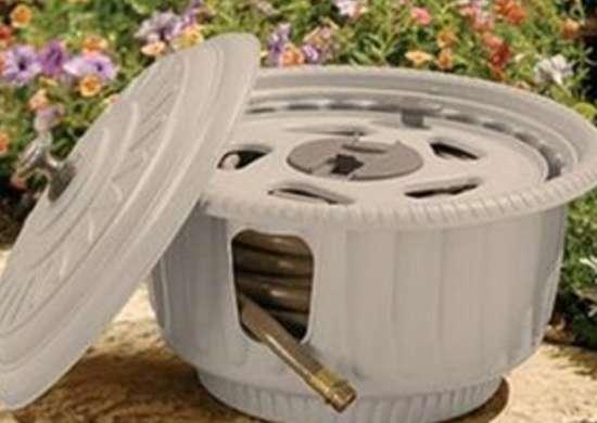 Hose Reel Garden Hose Storage 8 Stylish Solutions Bob Vila