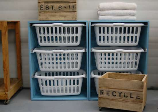 DIY Laundry Sorter