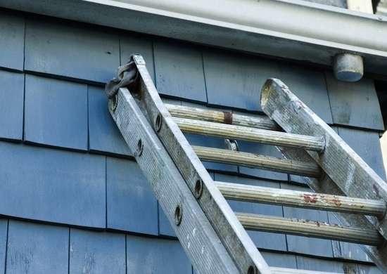 Ladder burglary
