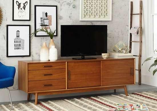 Midcentury Modern Living RoomTV Room Ideas9 Smart Spots to