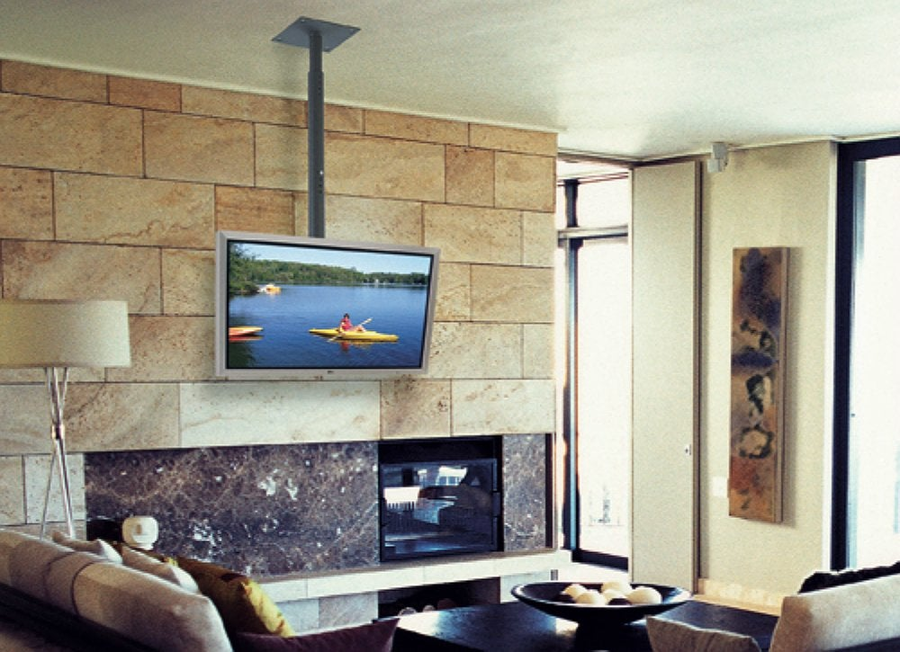 Tv Over Fireplace Tv Room Ideas 9 Smart Spots To Put