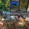 Outdoor Kitchen TV