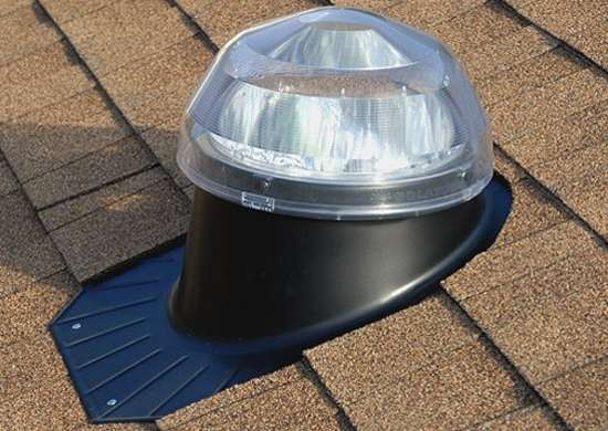 Tubular skylight roof dome