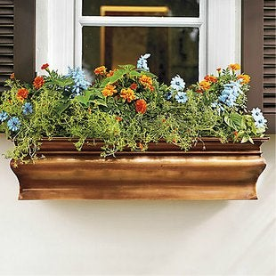 Grandinroad.com lena copper window box