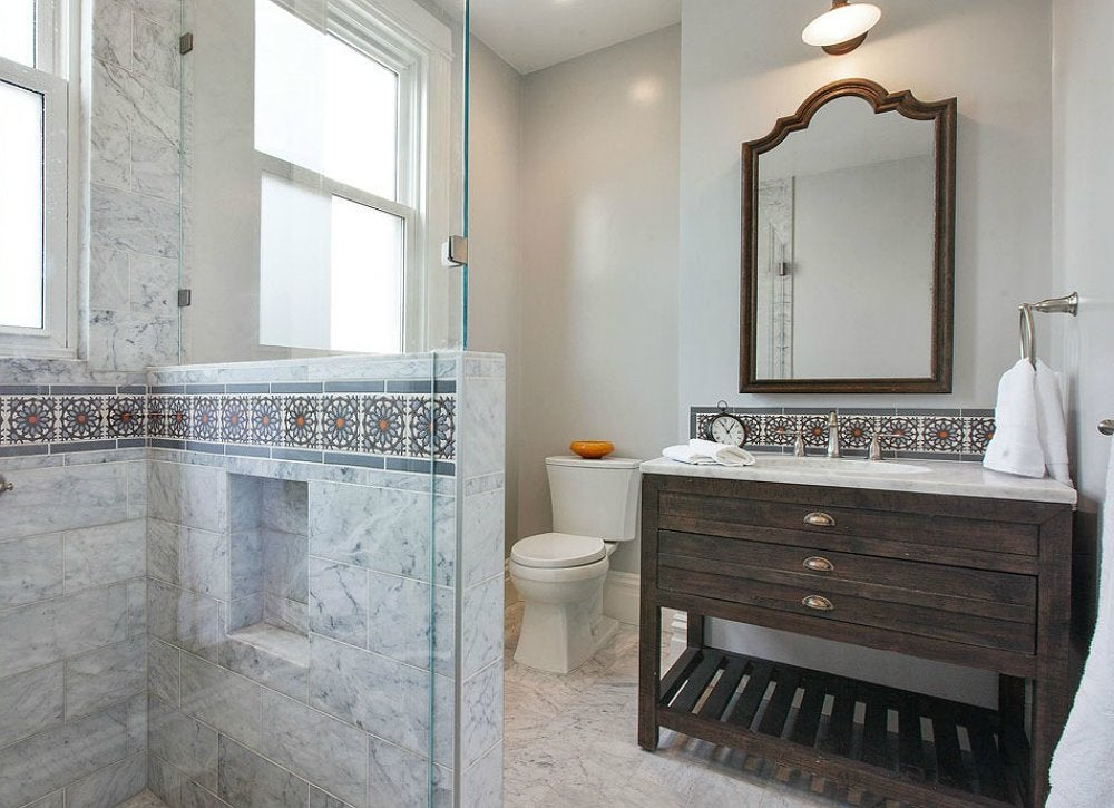 Bathroom Tile Cheap Flooring Options 7 Alternatives To