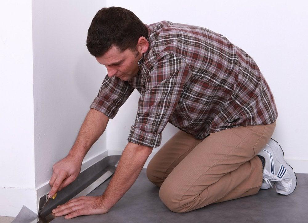 Flooring linoleum