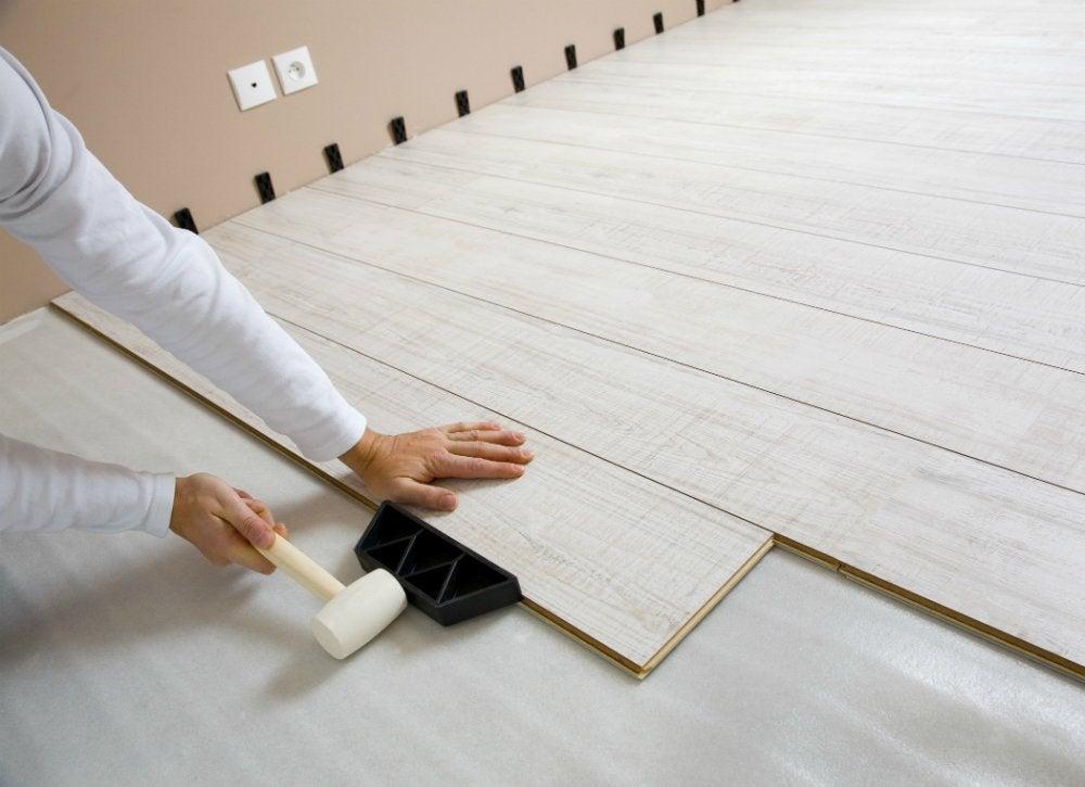 laying laminate flooring - cheap flooring options - 7 alternatives