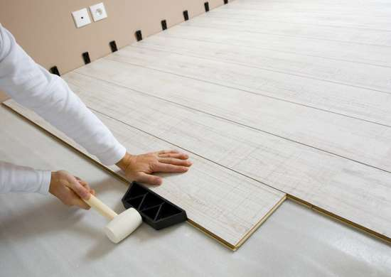 Laying Laminate Flooring
