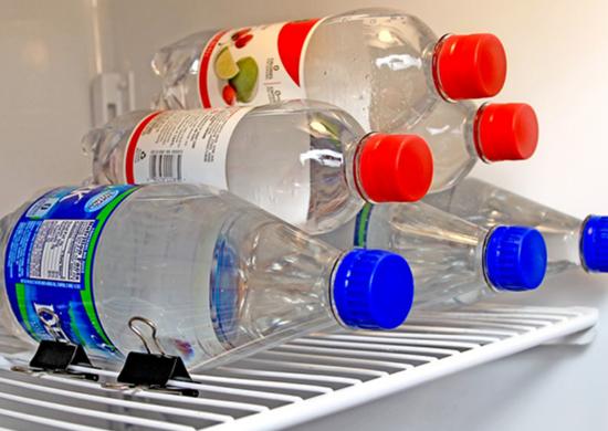 Creative ways to use office supplies   fridge