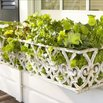 White Gate Window Box
