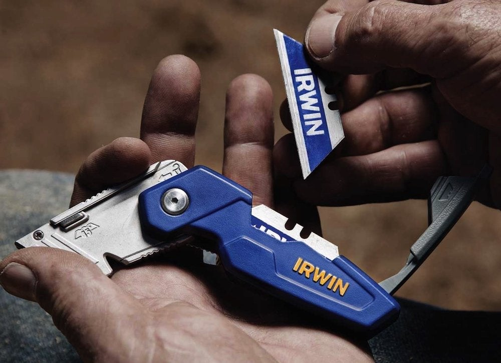 Irwin folding knife