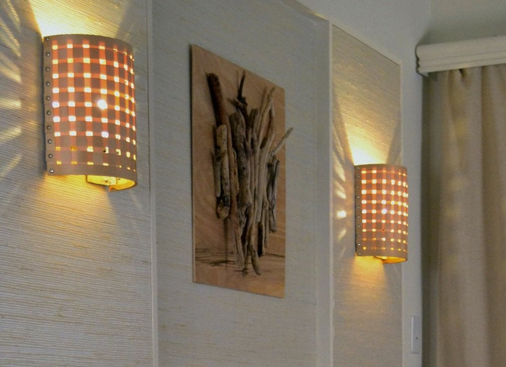 Bob vilas best diy projects for beginners bob vila you dont need to be an electrician to revamp your homes lighting scheme in fact this homemade wall sconce couldnt be easier and requires no more than aloadofball Images