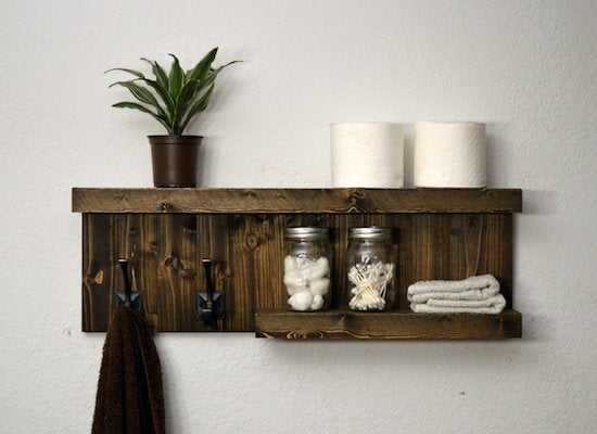 DIY Bathroom Storage Shelf  BLACKDECKER