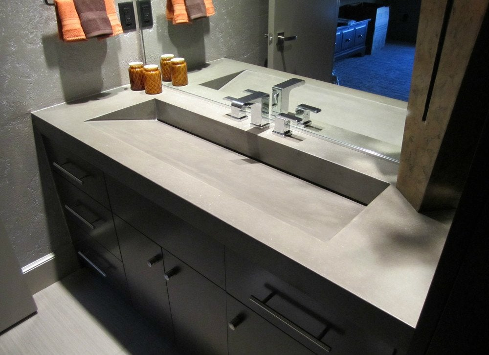 Craft a concrete countertop