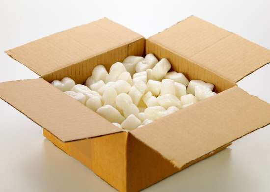Uses for styrofoam packing peanuts
