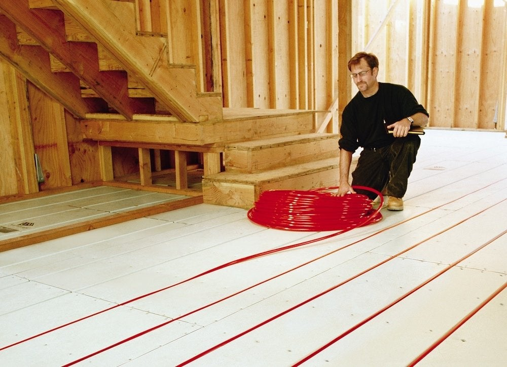 Radiant heat zoning