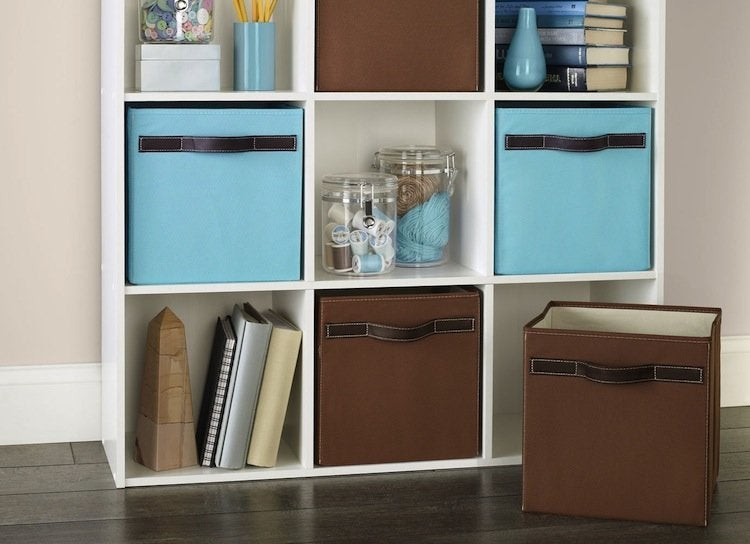 Basement storage containers