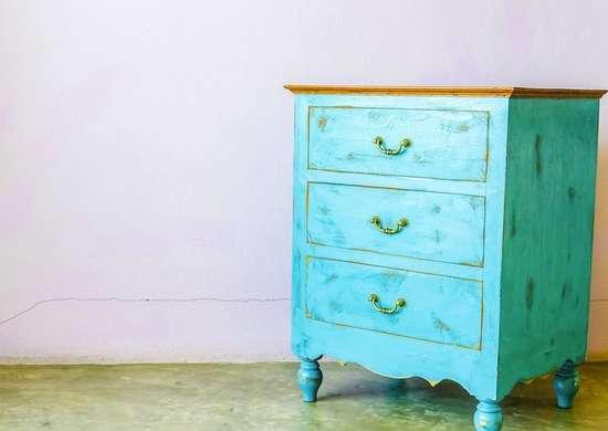 Wood furniture storage