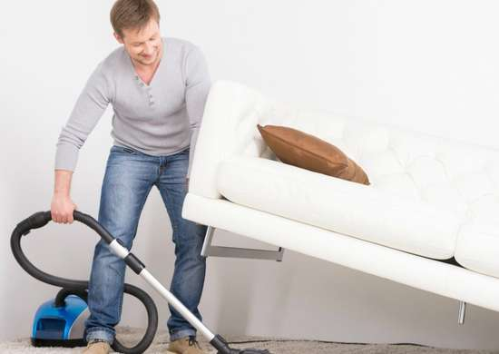 Vacuum Around Furniture