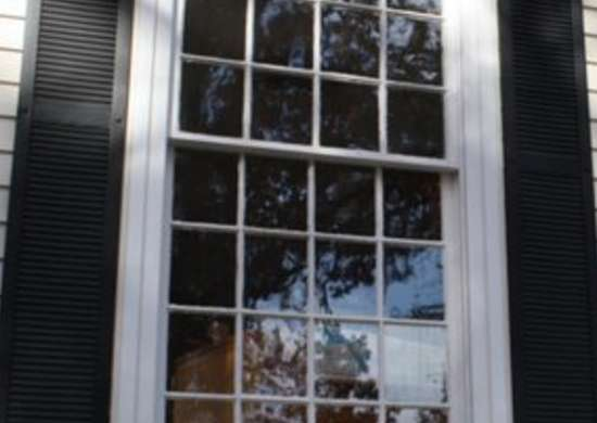 Double hung windows