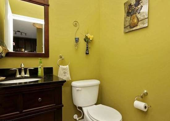 Yellow bathroom fall paint colors 9 top picks bob vila for Bathroom yellow paint