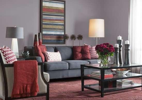 Grey flannel glidden paint