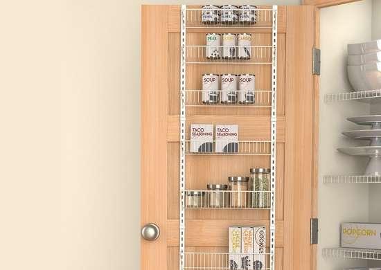 over the door pantry organizer pantry storage ideas 14 instant fixes bob vila. Black Bedroom Furniture Sets. Home Design Ideas
