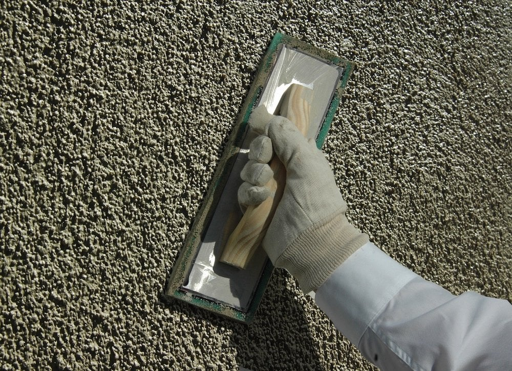 Patching stucco