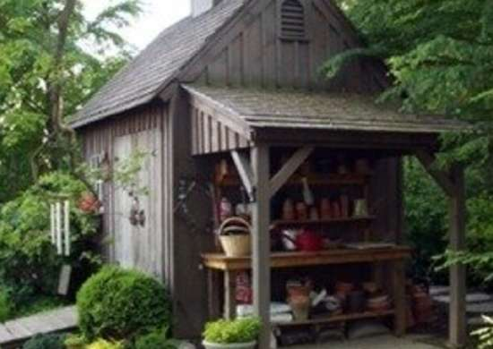Country Carpenters Wood Shed