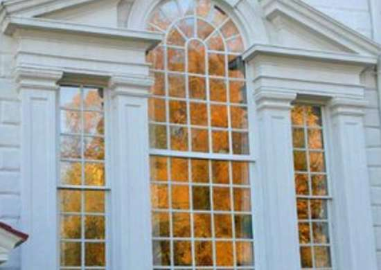 Palladian window mount vernon
