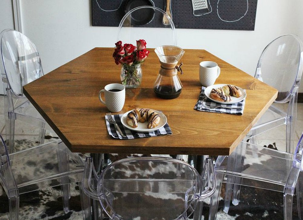 DIY Dining Room Table DIY Kitchen Table 13 Seriously