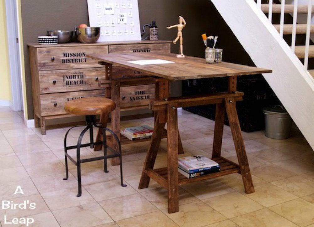 Kitchen table trestle