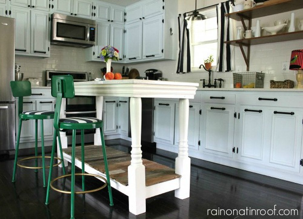 Kitchen island seating diy kitchen table 13 seriously Kitchen island with seating