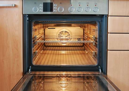 Clean oven racks with dryer sheets