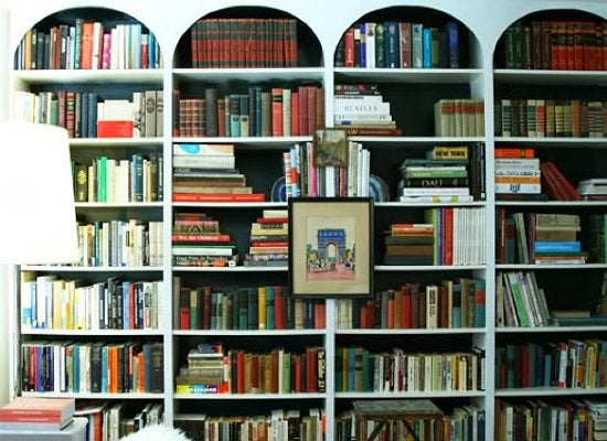 Bookcase diy architecture