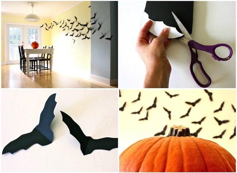 Diy halloween bats