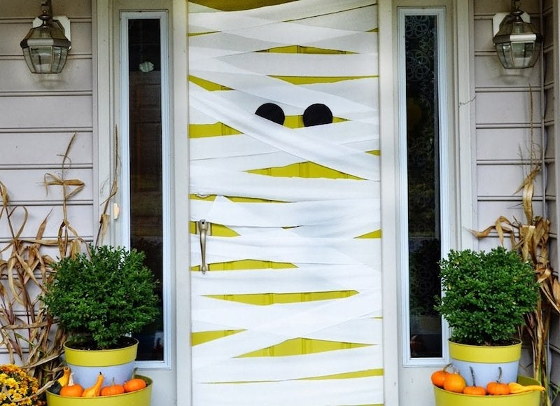 Mummy front door