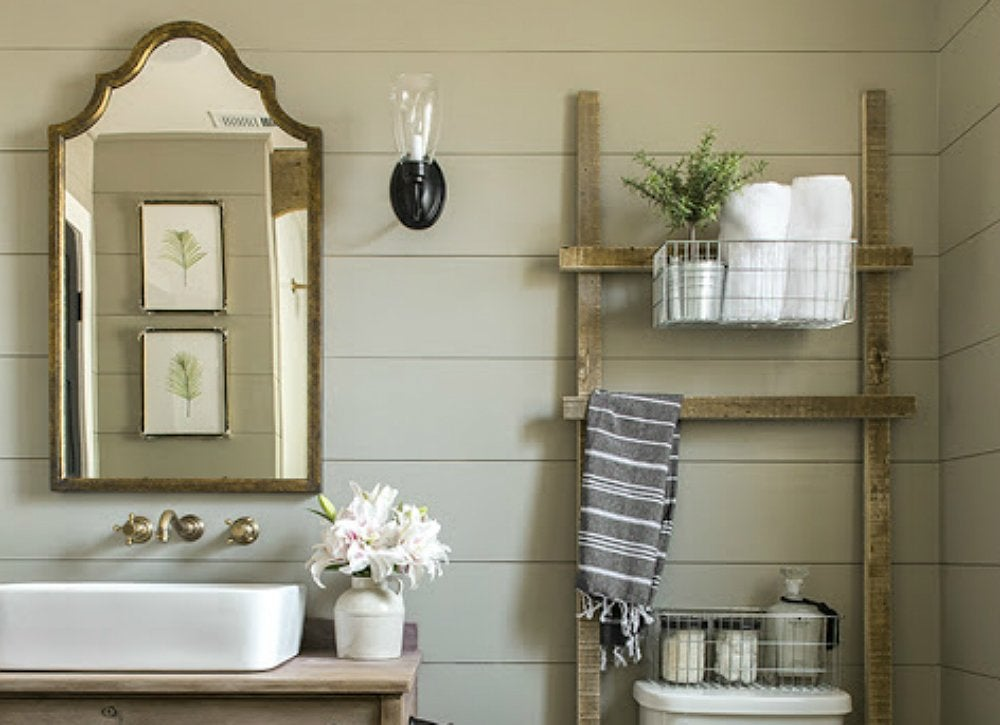 Half bathroom ideas 9 ways to design yours bob vila for Rustic half bath ideas