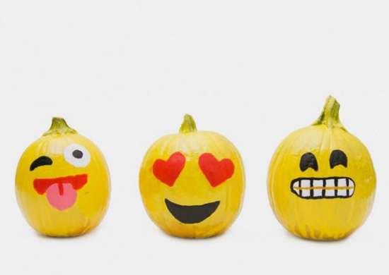 Emoji pumpkin easy pumpkin carving ideas 29 clever ways to create yours bob vila for Emoji pumpkin carving ideas