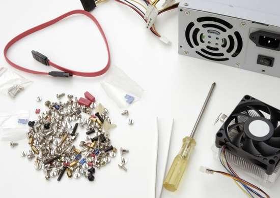 Use tweezers when repairing electronics