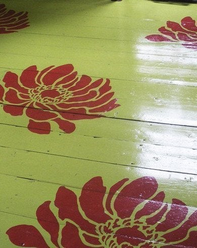 Stenciled Floors The Best Of Todays Designs