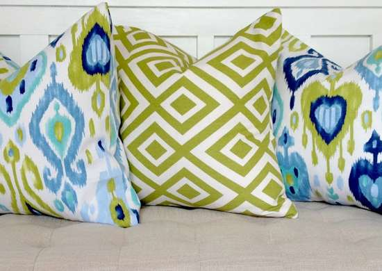Lazy diy no sew pillows